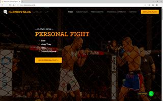 site portfolio kleison silva
