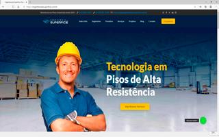 site portfólio engenharia de superfície